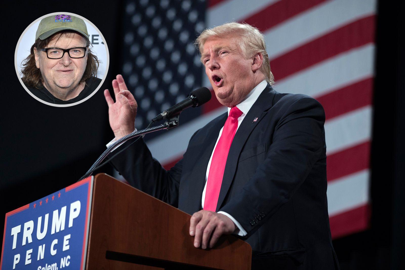 KOMBO Michael Moore / Donald Trump