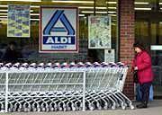 Die Konkurrnenz schläft nicht: Aldi-Filliale