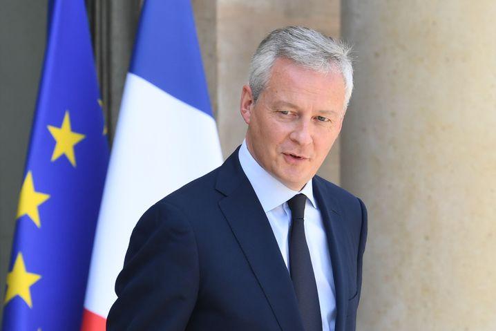 Bruno Le Maire, französischer Finanzminister, fordert die EZB zur Unterstützung von Unternehmen auf