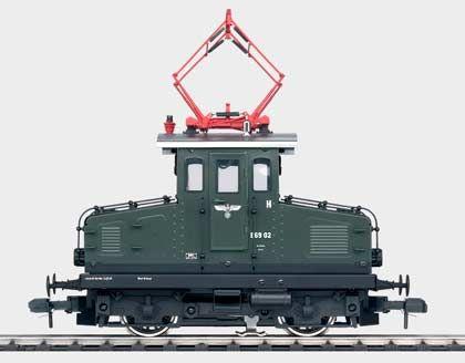 Knuffig: Nebenbahnlokomotive Baureihe E 69 der Deutschen Reichsbahn-Gesellschaft