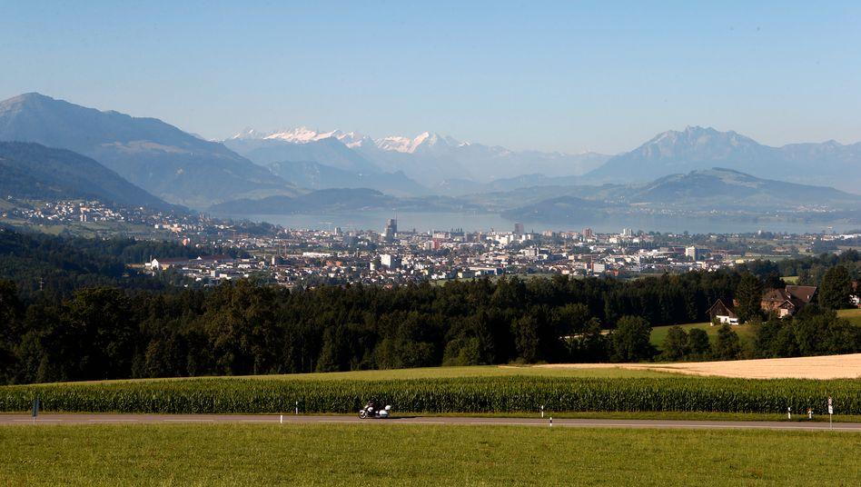 """""""Crypto Valley"""": Im Schweizer Zug haben sich bereits 15 Firmen der digitalen Finanzbranche angesiedelt"""