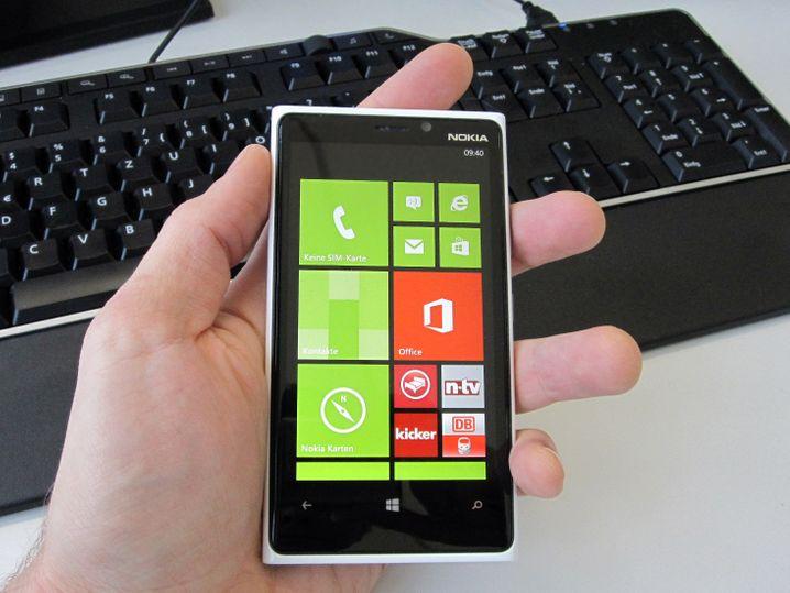 Das kachelt: Nokias Lumia 920 läuft mit Windows Phone 8