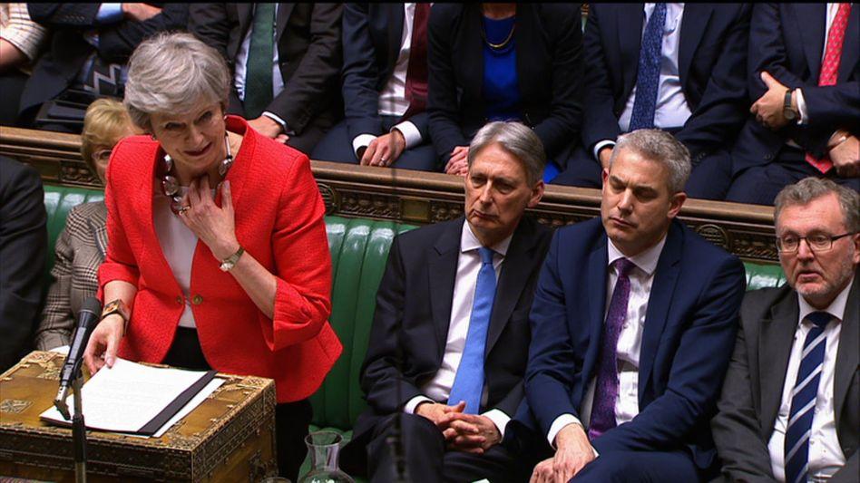Mit der Stimme am Ende, mit den Ideen auch? Großbritanniens Premierministerin Theresa May