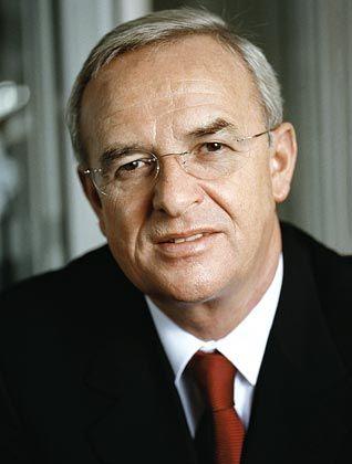 Erste Bilanz:VW-Chef Winterkorn
