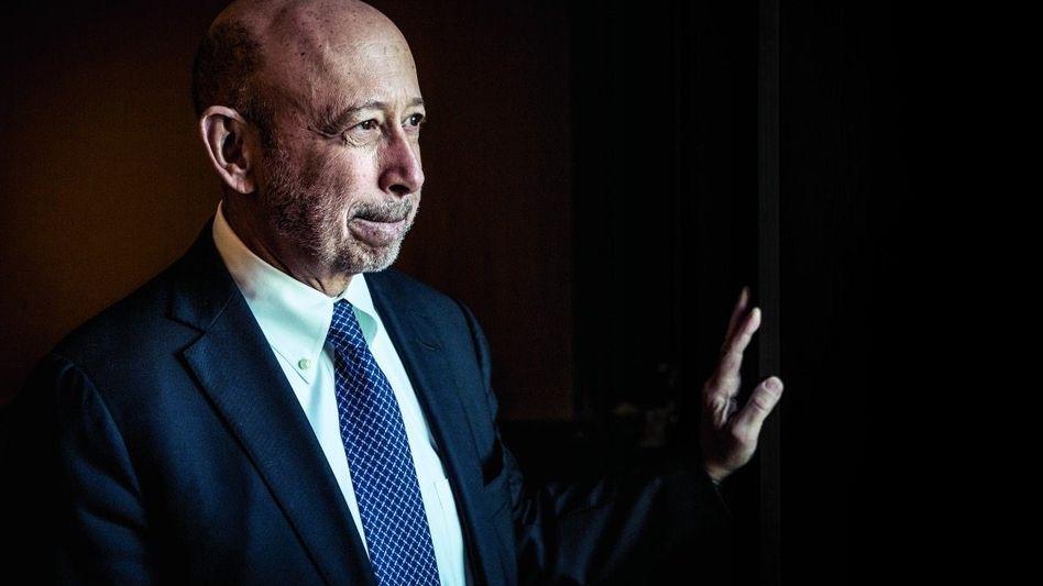 ALPHAMANN AUF ABRUF Goldman-CEO Lloyd Blankfein steht seit 2006 an der Spitze der Bank. Insider glauben, dass er sich 2018 verabschieden wird.