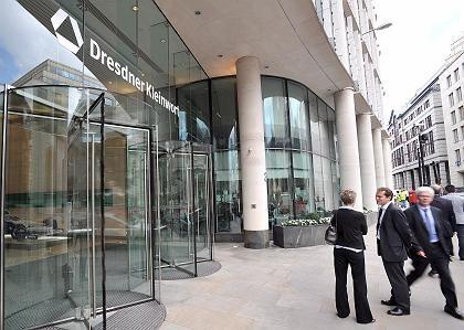 Zukunft ungewiss: Dresdner Kleinwort in London
