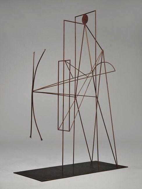 Diese Skulptur von Picasso, die als Denkmal für den Dichter Guillaume Apollinaire entworfen wurde, wird auf 20 Millionen Dollar geschätzt
