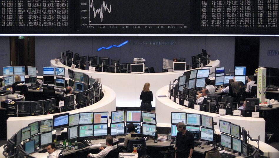 Börse in Frankfurt: Wall Street als Spielverderber
