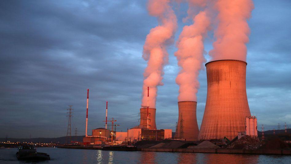 Atomkraftwerk Tihange in Huy, Belgien: Keine 70 Kilometer liegen zwischen Tihange und Aachen