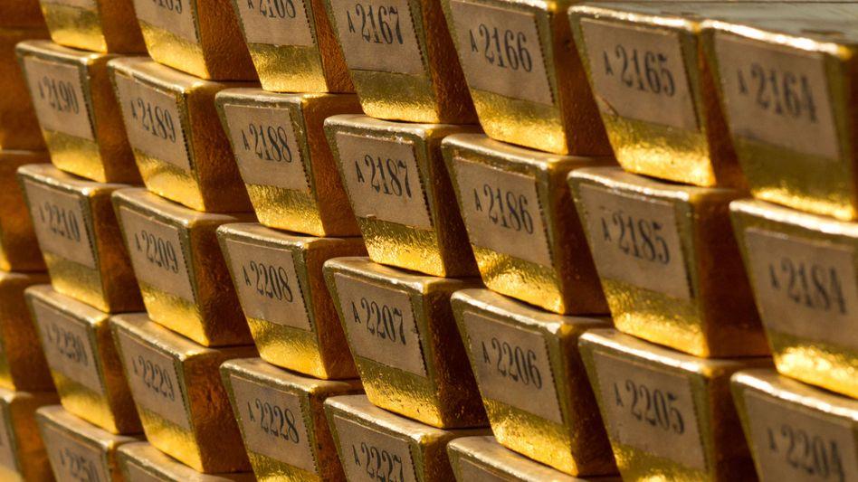 Unklarer Preistrend: Gold in Barren.