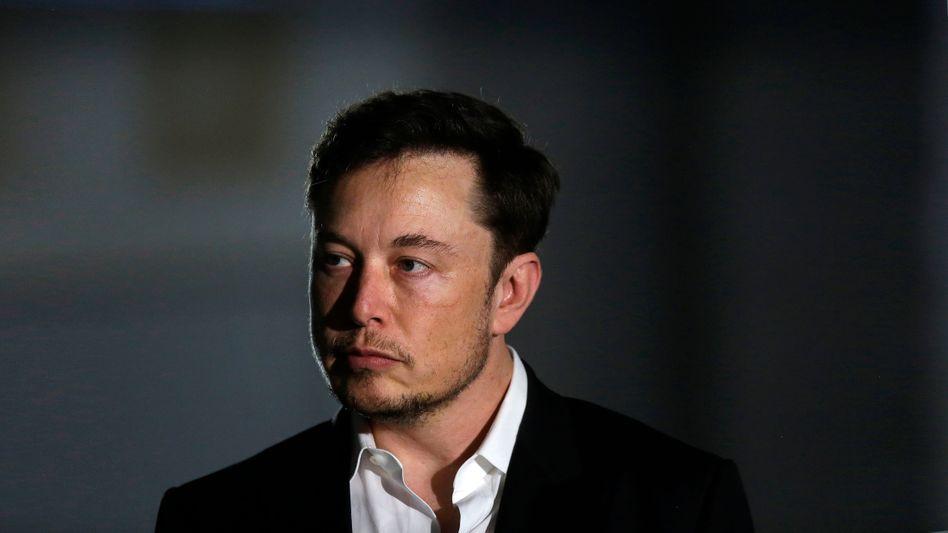 Elon Musk, Chef des Elektroauto-Herstellers Tesla und des Raumfahrtunternehmens SpaceX