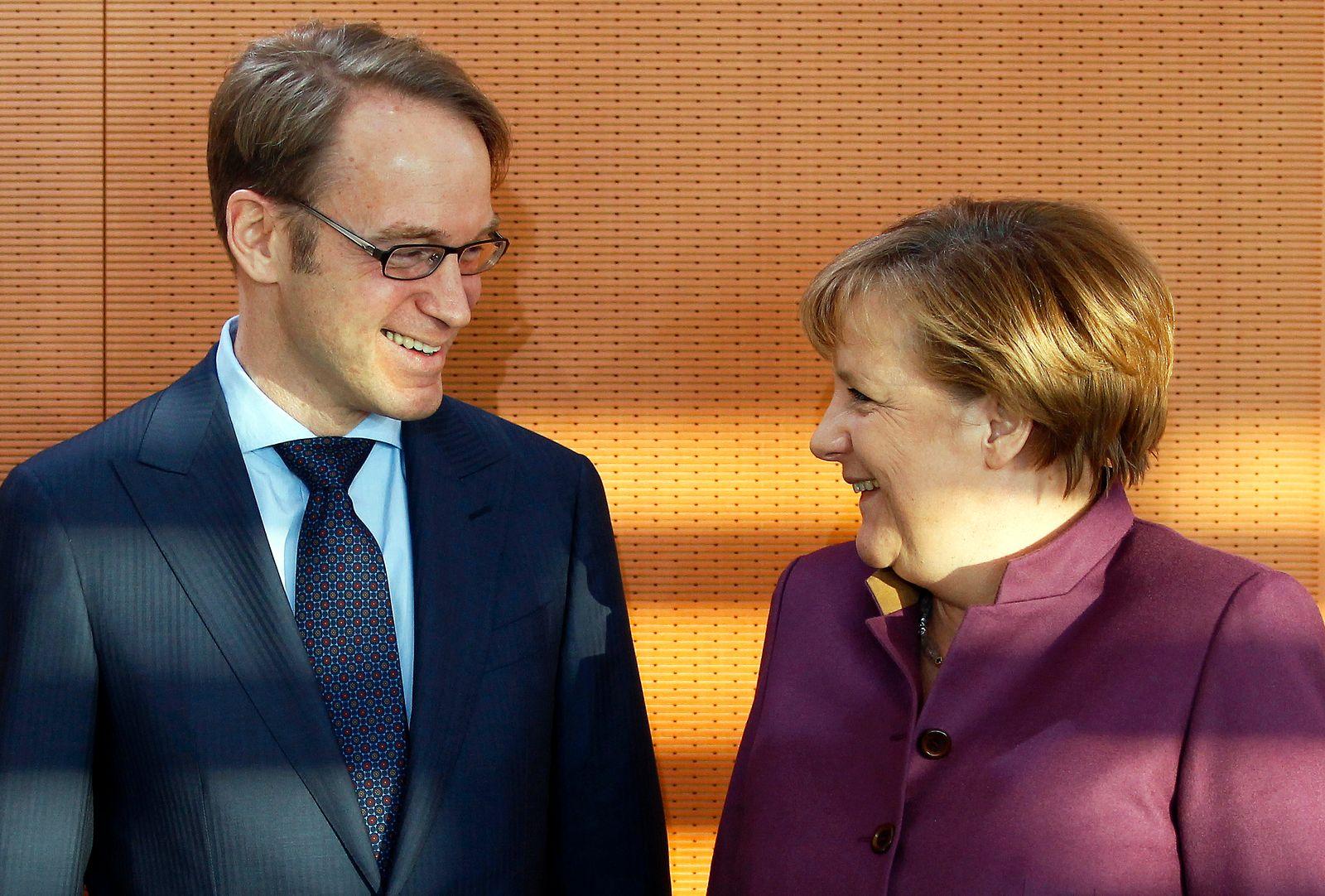 Angela Merkel, Jens Weidmann