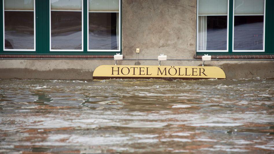Hochwasser in Lauenburg: Besonders kleine Betrieb betroffen