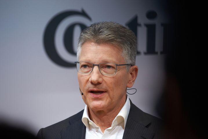 Fand nicht mehr in die Spur: Ex-Conti-Chef Elmar Degenhart