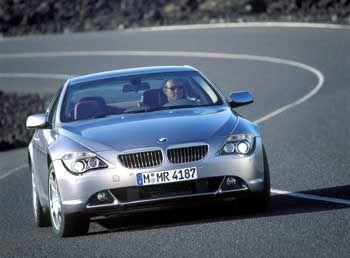 Der Jäger Mit Modellen wie dem 645 Ci will BMW Mercedes den Rang ablaufen
