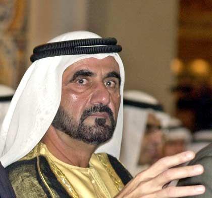 Machte Dubai vom altmodischen Hafen am persischen Golf zur Metropole mit Wolkenkratzern: Scheich Mohammed, Kronprinz von Dubai