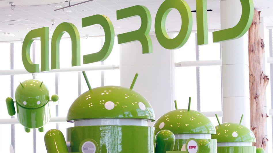 Putzige Android-Maskottchen: Gar nicht putzig finden US-Bundesstaaten die Macht, die Google mit dem weltweit führenden Betriebssystem und der Softwareplattform für mobile Endgeräte ausübt