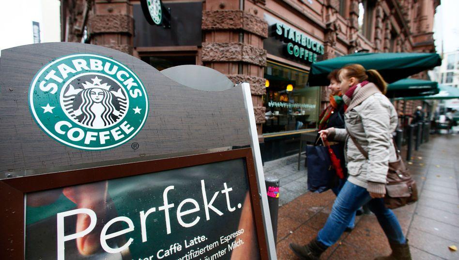 Starbucks in Frankfurt: Der US-Konzern hinkt seinen Plänen in Deutschland weit hinterher