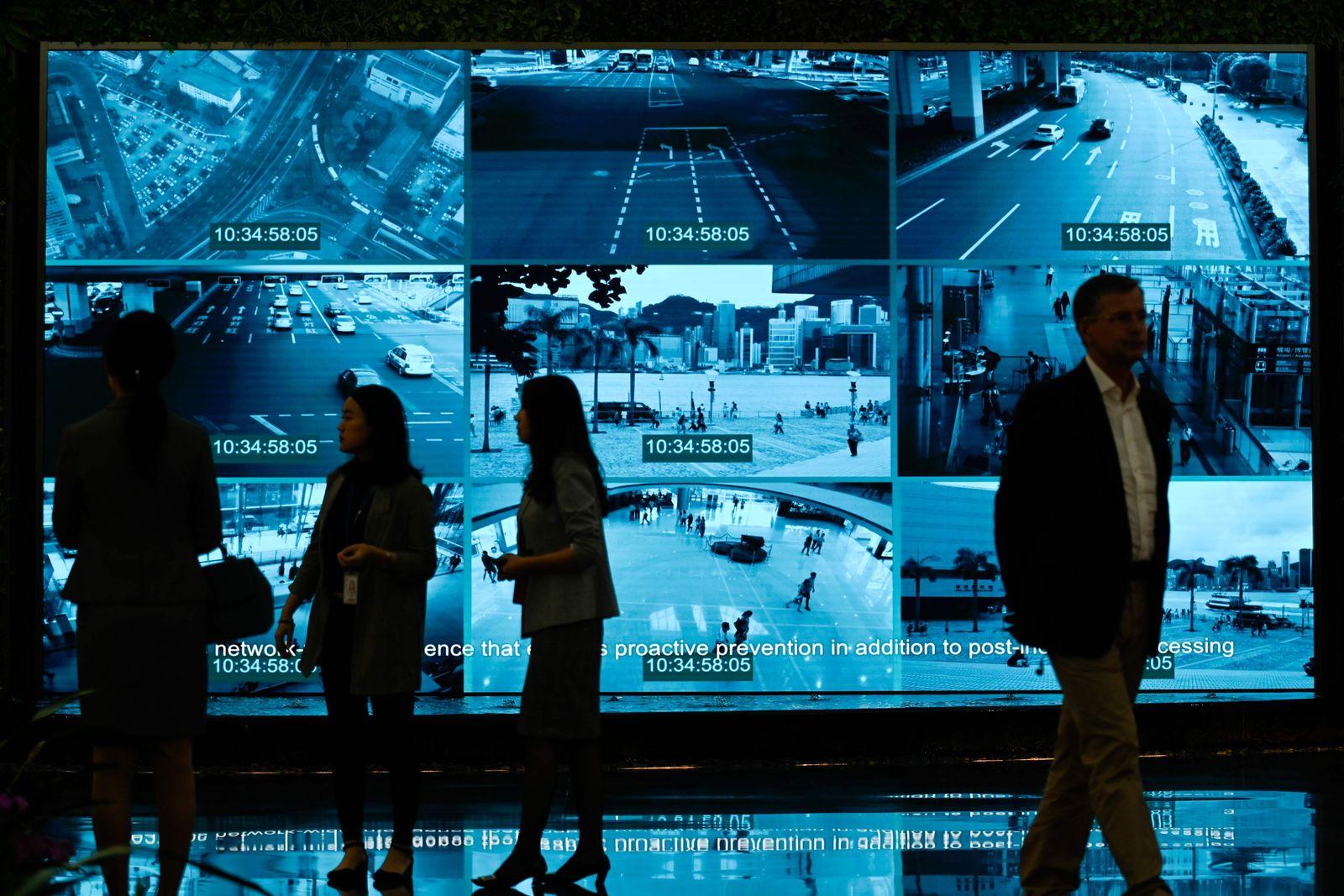 Huawei Digital Transformation Showcase in Shenzhen