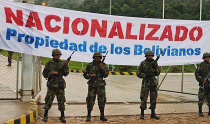 Schutz vor Übergriffen: Bolivien verstaatlicht seine Gasvorkommen; zum Missfallen des Auslands