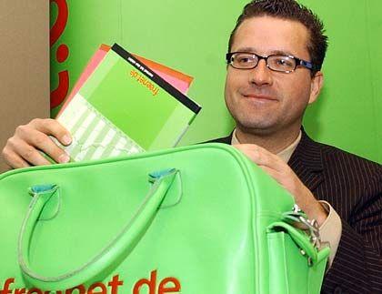 Steuert 90 Prozent des Mobilcom-Gewinns bei: Freenet-Chef Eckhard Spoerr