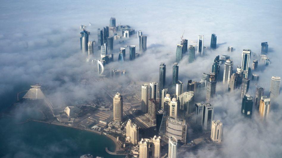 Doha: Die Hauptstadt von Katar leidet unter den Sanktionen der arabischen Nachbarstaaten