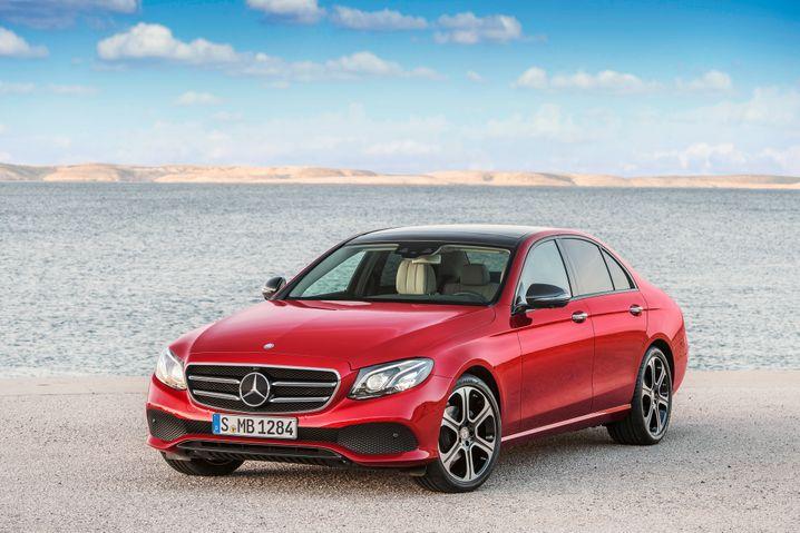 Mercedes E-Klasse: Der neu entwickelte Dieselmotor ist im Alltagsbetrieb tatsächlich schadstoffarm