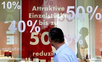 Preisdruck: Die Einzelhändler spüren die Zurückhaltung der Kunden