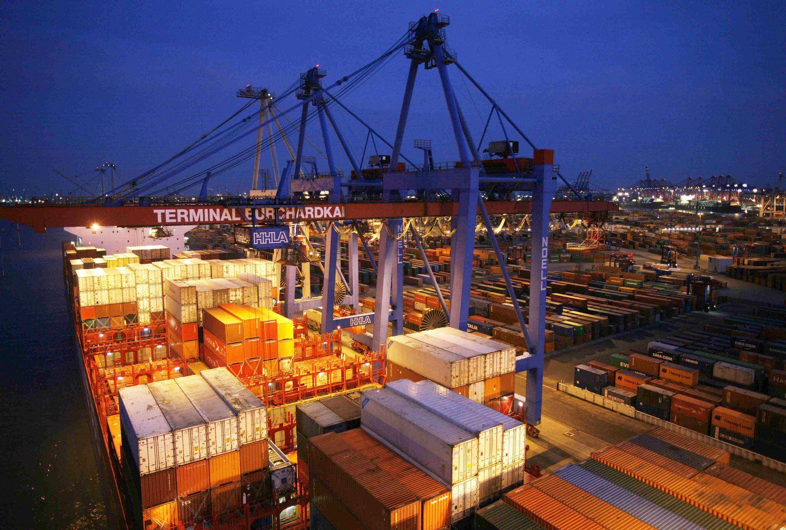 Container Terminal / Konjunktur