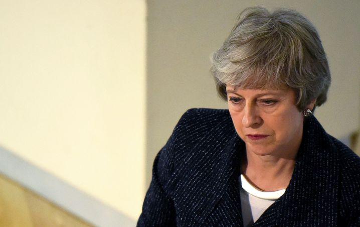 Großbritanniens Premierministerin Theresa May steht unter Druck.