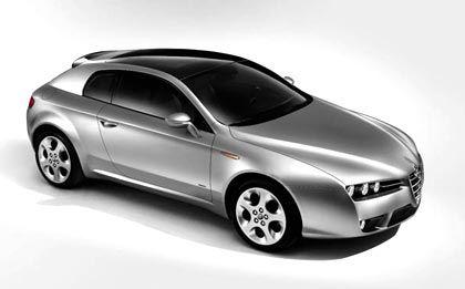 Zur Positionierung als Sportmarke: Alfa Romeo Brera