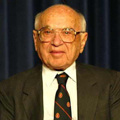 """Nobelpreisträger Friedman: """"Soziale Verantwortung besteht darin, Profite zu erwirtschaften"""""""