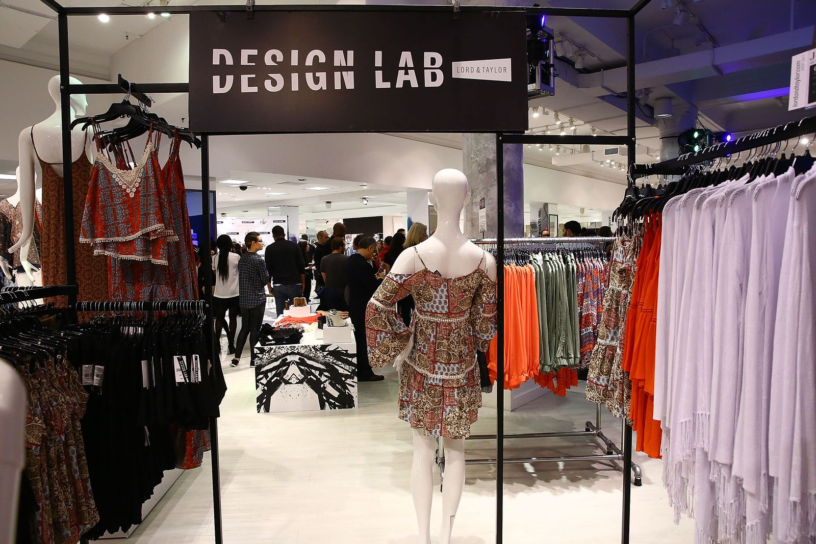 Lord & Taylor; Design Lab In-Store
