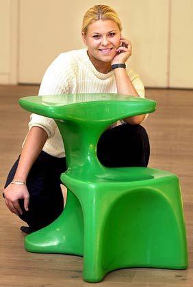 "Design-Möbel: Colani-Stuhl mit dem Namen ""Zocker"""