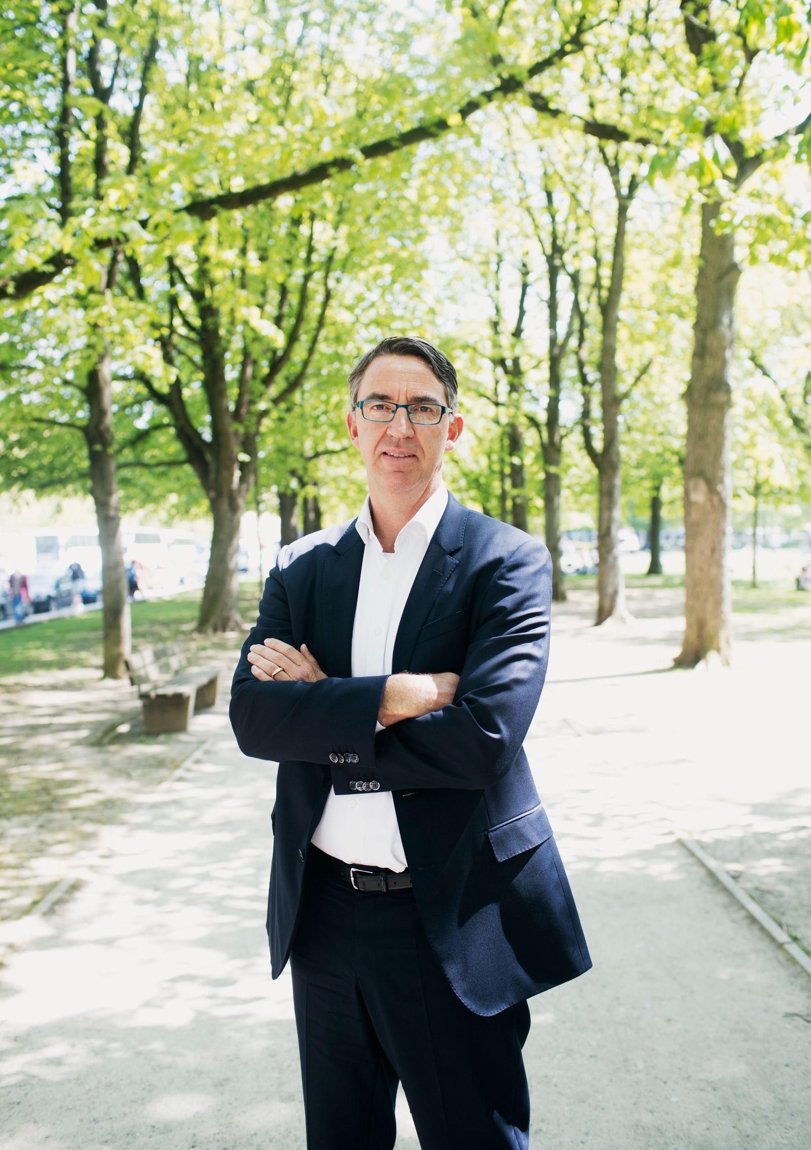 Till Reuter, CEO Kuka für Wirtschaftswoche