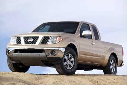 Quadratisch, praktisch: Der amerikanischste Pickup auf der Messe kommt von Nissan