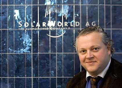 Ins Grüne getroffen: Solarworld-Gründer Asbeck