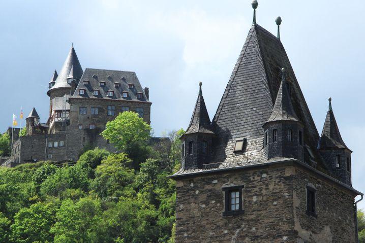 Die Burg Stahleck bei Bacharach ist heute eine Jugendherberge