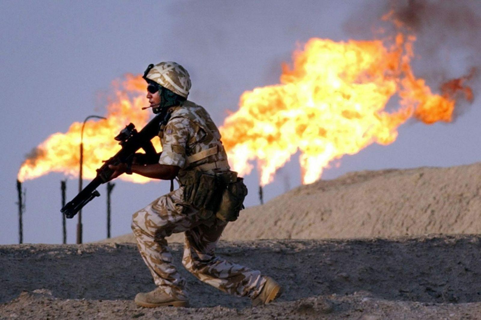 Britischer Soldat / Irak