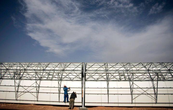 Solarthermisches Kraftwerk in Beni Mathar: Marokko setzt auf erneuerbare Energien - und möchte Strom exportieren
