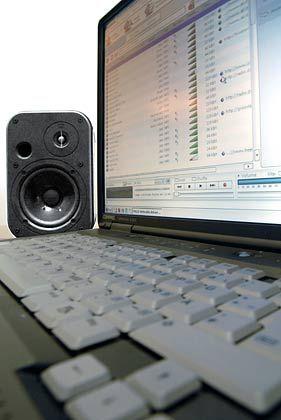 Mobile Musikdatenbank: HiFi-Genuss aus dem Laptop