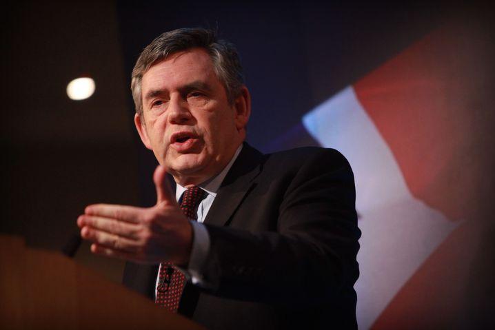 Gordon Brown: Zwischen 1997 und 2007 war er britischer Finanzminister