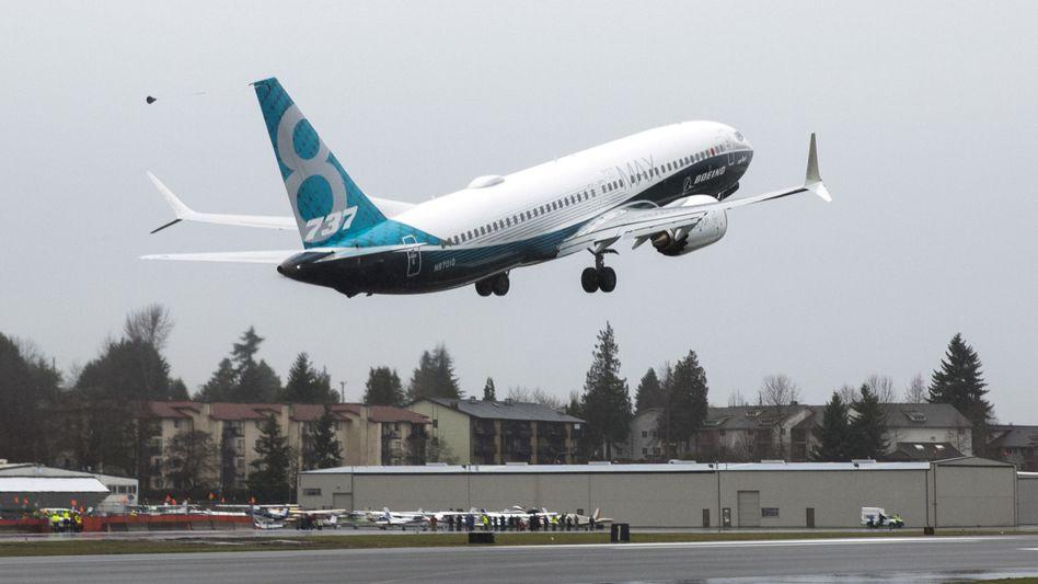 Boeing 737 Max: Aktionäre werfen Boeing vor, Sicherheitsmängel vertuscht zu haben