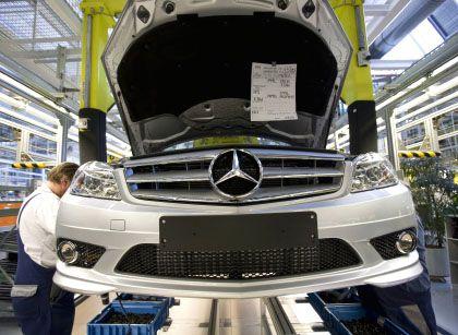 Daimler-Produktion: Die Absatzkrise hält an