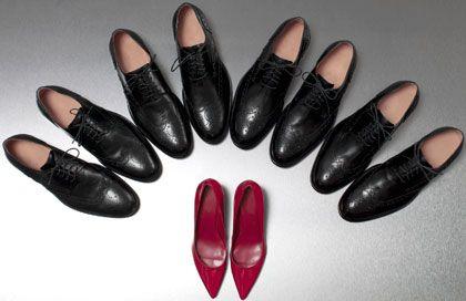 Finden weniger Abnehmer: Schuhe