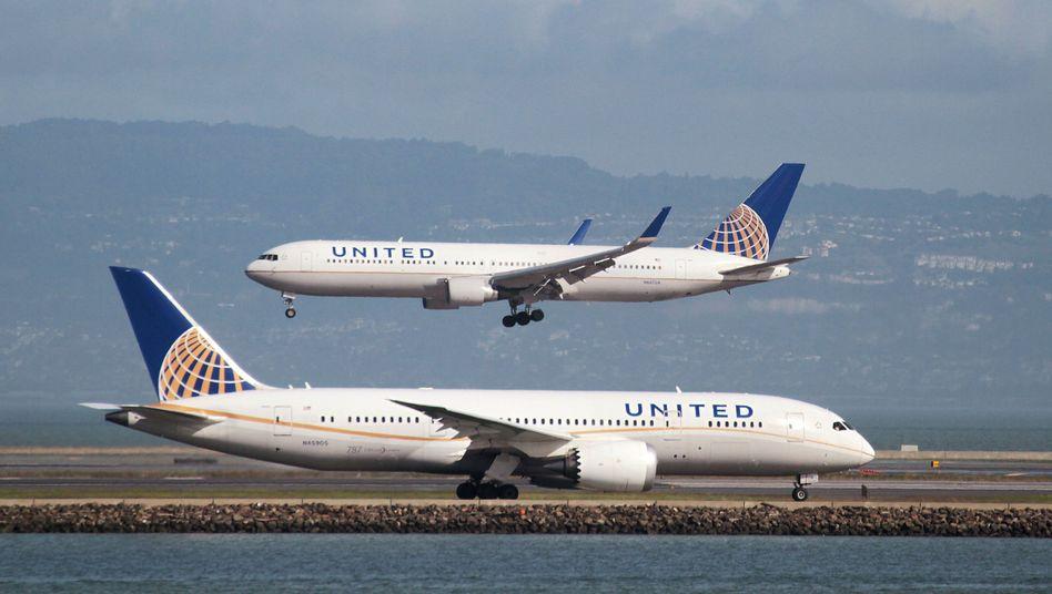 Boeing 787 von United: Allen Passagieren geht es gut