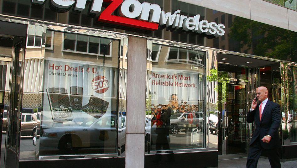 Verizon Wireless in den USA: Gerüchteweise erwägen die Amerikaner, das Gemeinschaftsunternehmen mit Vodafone in eine neue Form zu gießen
