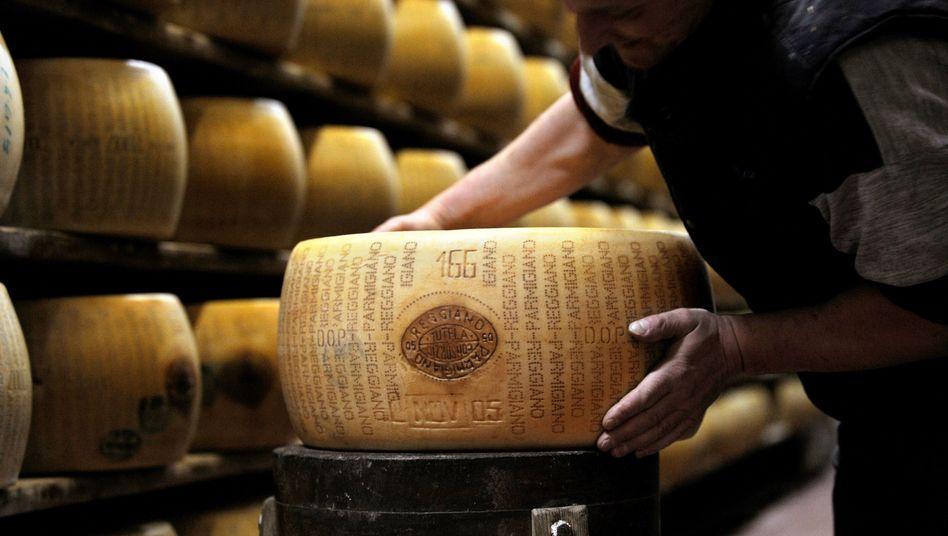 Parmesan-Hartkäse: Preis könnte auf 60 Dollar je Kilo steigen