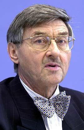 Forscht in Italien: Prof. Horst Siebert, Ex-Chef des Kieler Instituts für Weltwirtschaft