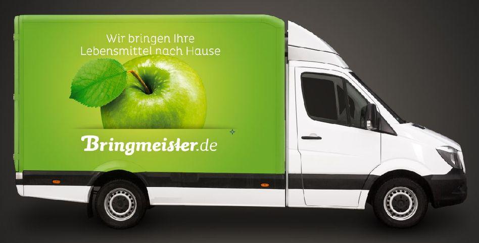 Lieferwagen von Bringmeister